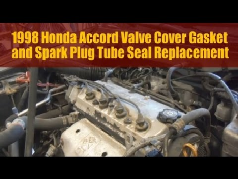 How To Replace Install Leaking Valve Cover Gasket 1.6L ...