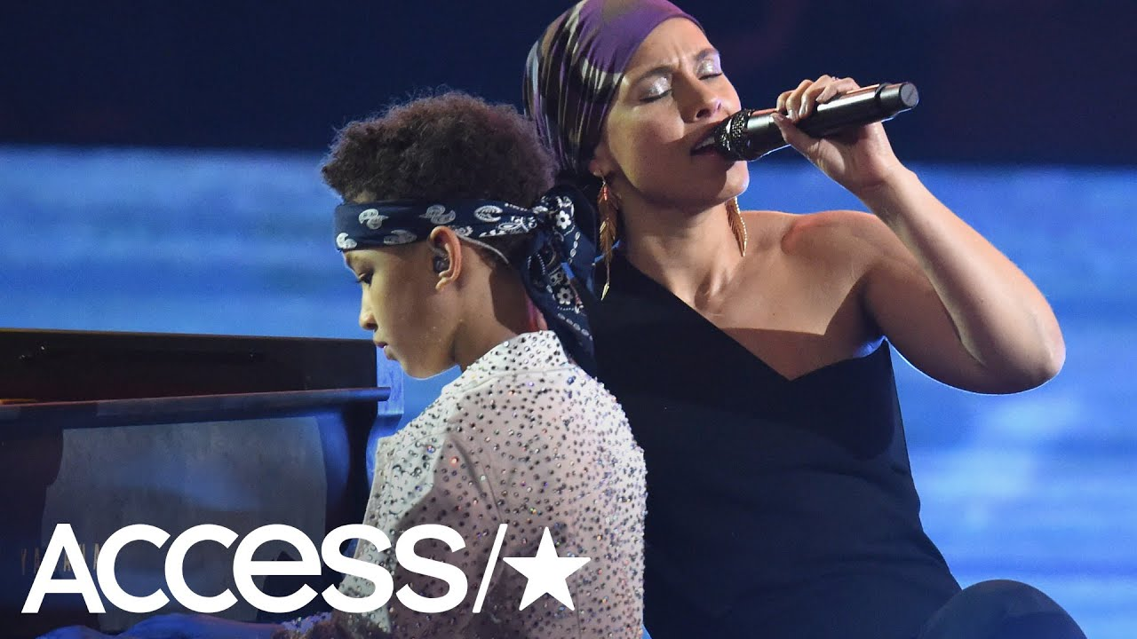 Alicia Keys Plays Piano With Her Son In Jaw-Dropping iHeartRadio Performance
