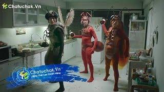 【Chatuchak.Vn】Quảng Cáo Thuốc Diệt Muỗi, Côn Trùng Chaindrite Siêu Bựa - P2   Quảng Cáo Thái Lan