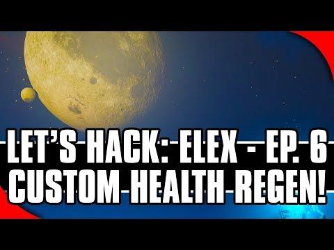 Let's Hack: ELEX, Ep. 6 - Custom Health Regeneration! (CreateThread via Cheat Engine)