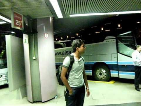 Madrid-Bus Station Video.wmv