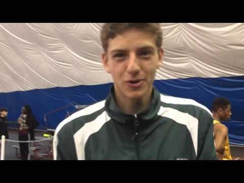Finish Of The Boys CJ Group 3 4x4 And Interview With Jordan Brannan Of Colts Neck