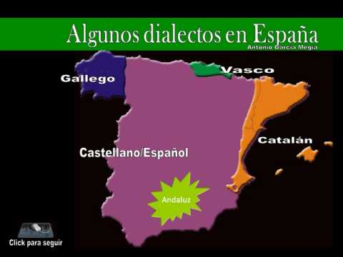 Dialectos De España Mapa.Lenguas Y Dialectos En Espana