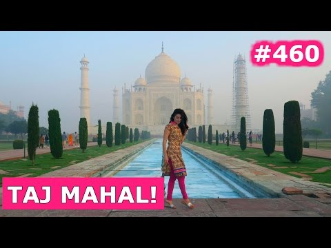 MADE IT TO TAJ MAHAL AND HAVING MIND BLOWING INDIAN FOOD | AGRA DAY 460 | INDIA | TRAVEL VLOG IV