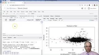 Download R Studio Wk 3 - Vid 5 - Creating & Assessing Diagnostic Plots for Linear Regression Models