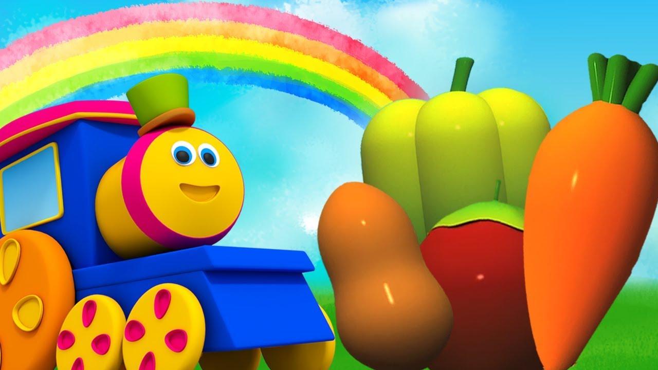 Sebze Şarkısı | Sebzelerin Isimleri | Bob The Train | Learn Vegetable