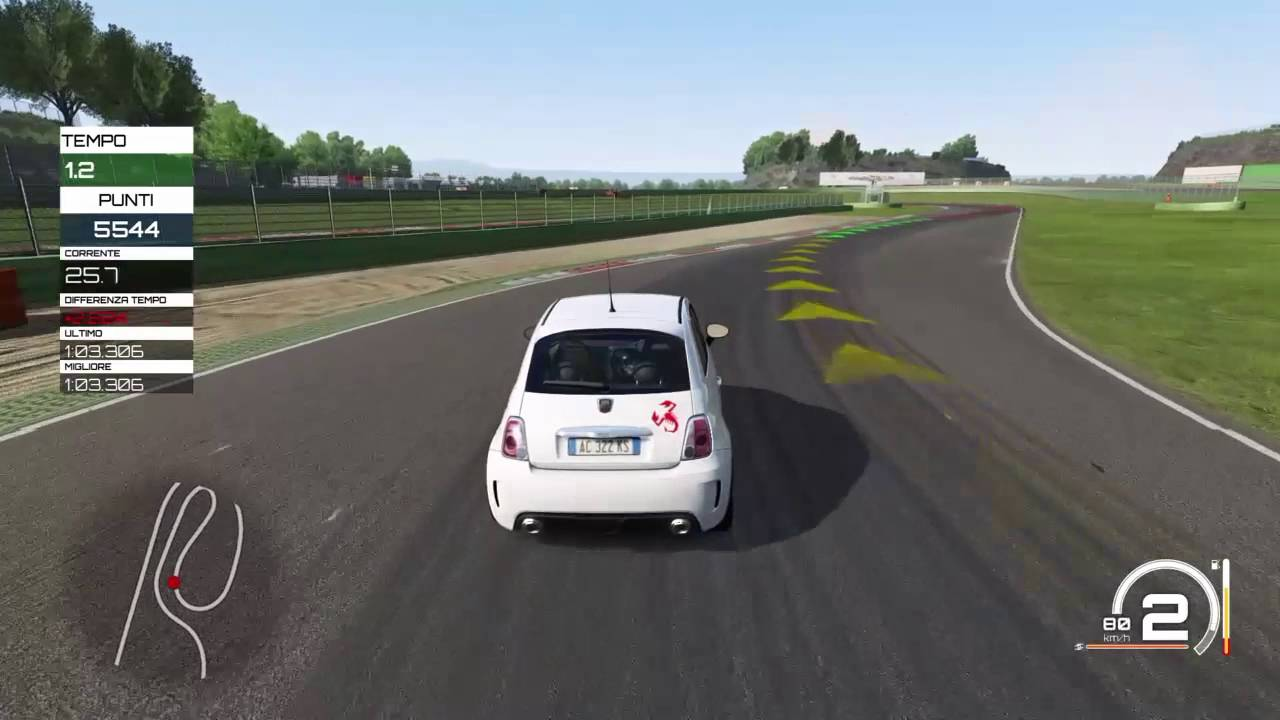 assetto corsa ps4 gameplay ita modalit carriera 01 500 abarth esseesse youtube. Black Bedroom Furniture Sets. Home Design Ideas