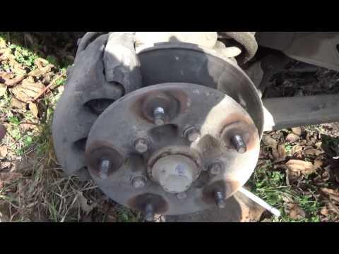 Как заменить тормозные диски на форд транзит!