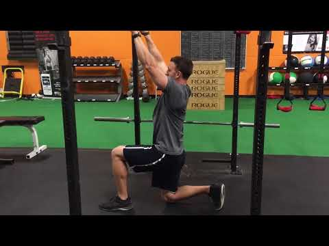 Half-Kneeling Pull Down with Resistance Band