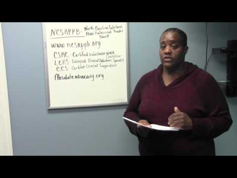 How to become a Substance Abuse Counselor in NC