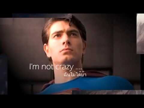 ❤SUPERMAN It's not easy Five for fighting Boyce Avenue cover lyrics & Thai