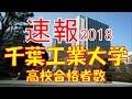 【速報】千葉工業大学 2018年(平成30年) 合格者数高校別ランキング