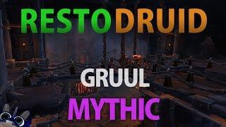 WoW - Gruul Mythic - Resto Druid PoV