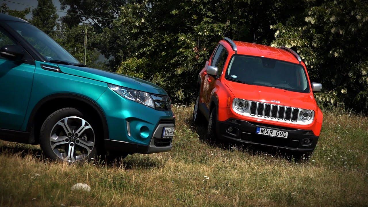 Suzuki Vitara vs. Jeep Renegade - YouTube