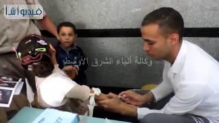 بالفيديو : مديرية أمن البحيرة تنظم قافلة طبية مجانية لعلاج أفراد الشرطة والمواطنين