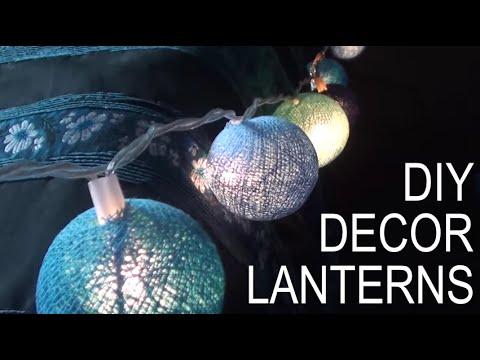 DIY: Room Decor Lanterns