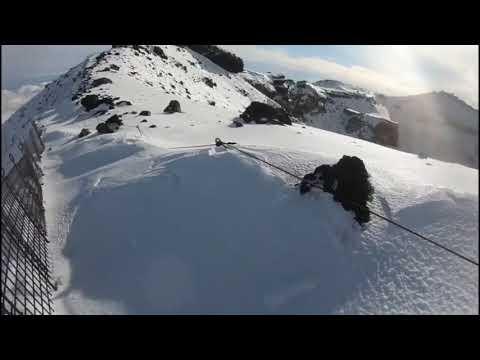 【ニコニコ】ホモと見るニコ生主の雪山の滑落事故 - YouTube