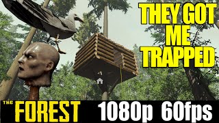 They got me trapped - The Forest - Yolo Letsplay - Part 10