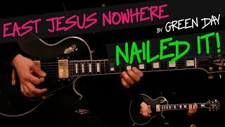 East Jesus Nowhere - Green Day guitar cover by GV + chords