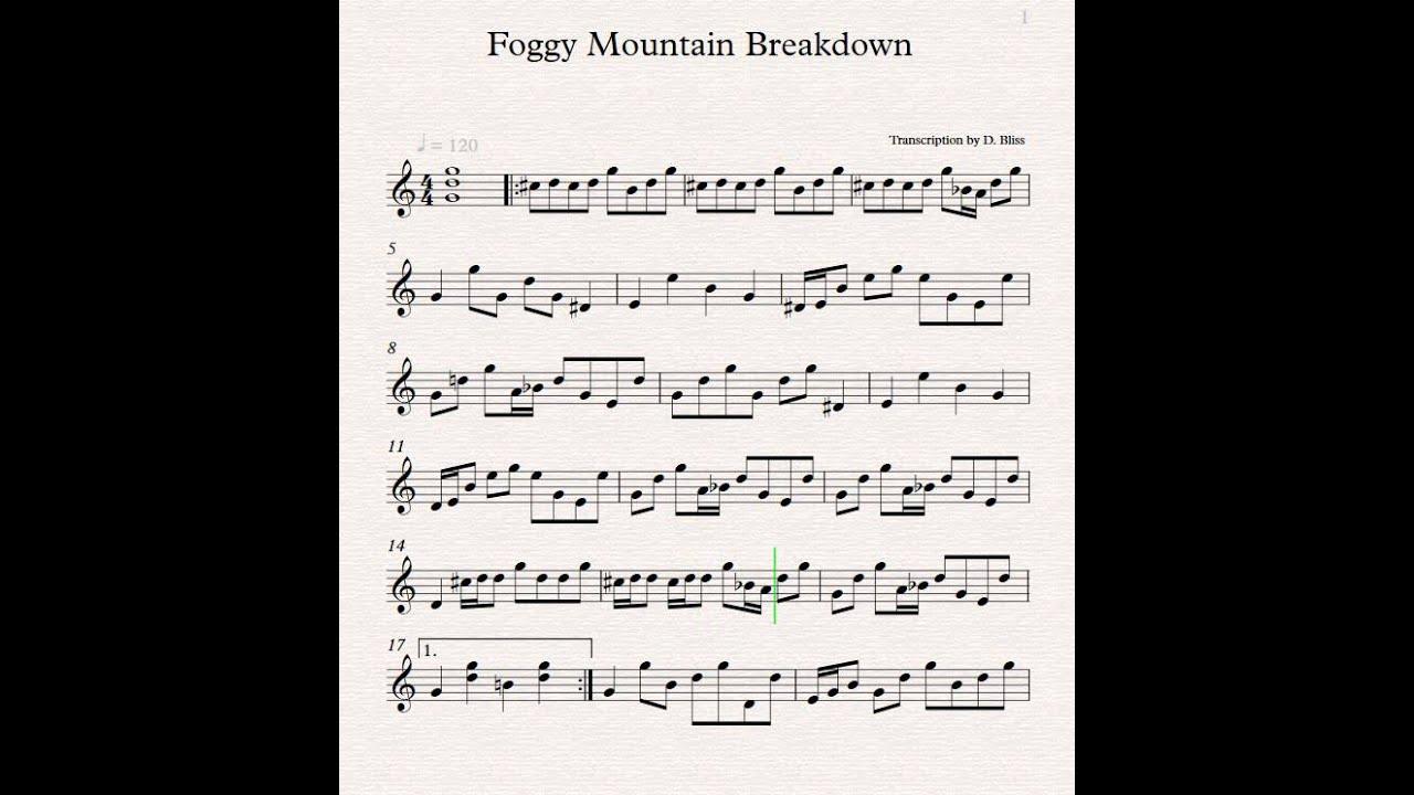 Earl Scruggs Foggy Mountain Breakdown YouTube
