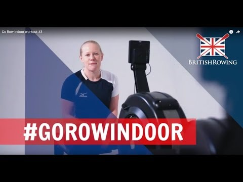 Go Row Indoor workout #3 The advanced workout
