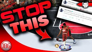 CHRIS SMOOVE IS ANGRY !! NBA 2K18 Blow - By Animation MUST BE STOPPED - My Team Gameplay