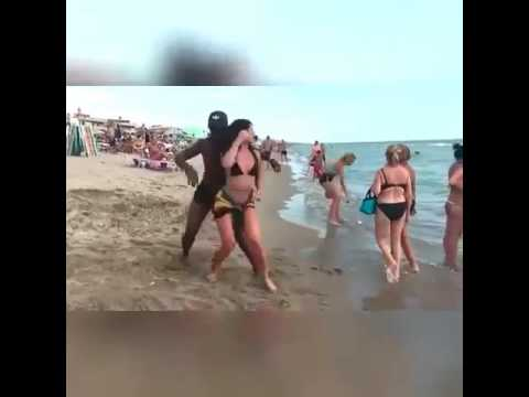 Tekno international fans dancing to his song Pana on the beach