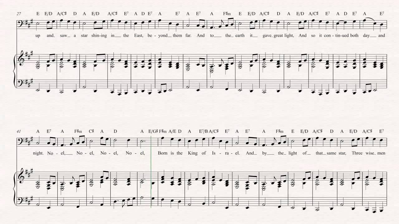Euphonium - The First Noel - Christmas Sheet Music, Chords, & Vocals ...