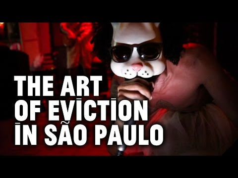 Sao Paulo Artists Turn Their Squat Into Cultural Center, Then Get Evicted