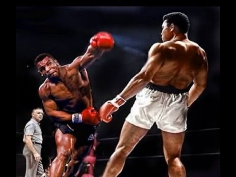 TYSON & ALI ● DEFENSE HIGHLIGHTS ● Two Legends