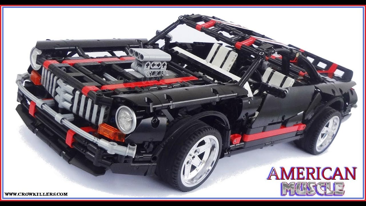 2014 Crowkillers Lego Technic Classic American Muscle Car - YouTube