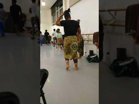 Mark Morris Dance Group African Dance class