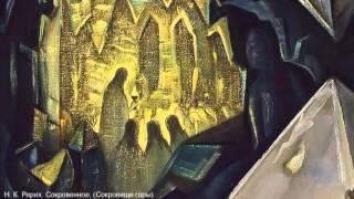 Беспрецедентная экспедиция Рерихов. ЧАНТАНГ. Киноэскиз Л.Дмитриевой к картине Н.Рериха