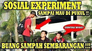 SOSIAL EXPERIMENT - BUANG SAMPAH SEMBARANGAN !!! ADA KAH YANG PEDULI?  SOSIAL EXPERIMENT INDONESIA
