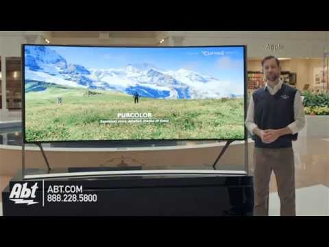 Samsungs Largest Curved 105 Inch UHD 4K LED HDTV UN105S9