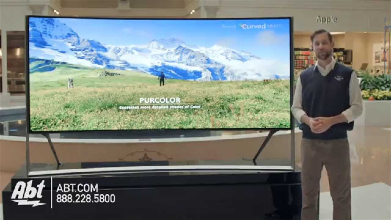 0789ccbde15 Samsungs Largest Curved 105 inch UHD 4K LED HDTV UN105S9 - YouTube
