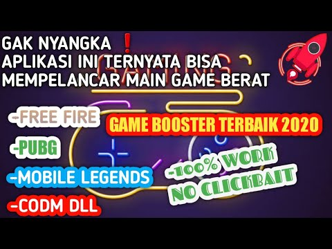 HP KENTANG MASUK APLIKASI GAME BOOSTER TERBAIK 2020 MAIN GAME JADI LANCAR 100% WORK - 동영상