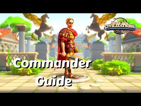Commander Guide: Julius Caesar, Conqueror of Cities! | Rise of Civilizations