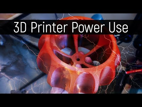How much power do 3D Printers use?