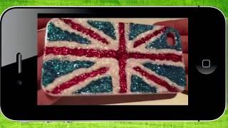 Чехол для телефона своими руками  Британский флаг...