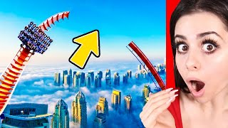CRAZY Roller Coasters YOU WON'T BELIEVE EXIST !