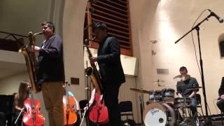 Beloit College Improvisation Ensemble featuring Jon Irabagon and Anders Svanoe