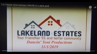 1st  Home Anniversary Month in LakeLand