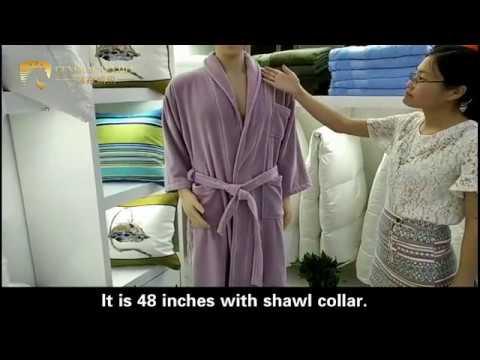 Hotel Velour Bathrobe-Shanghai General Textile Co.,Ltd