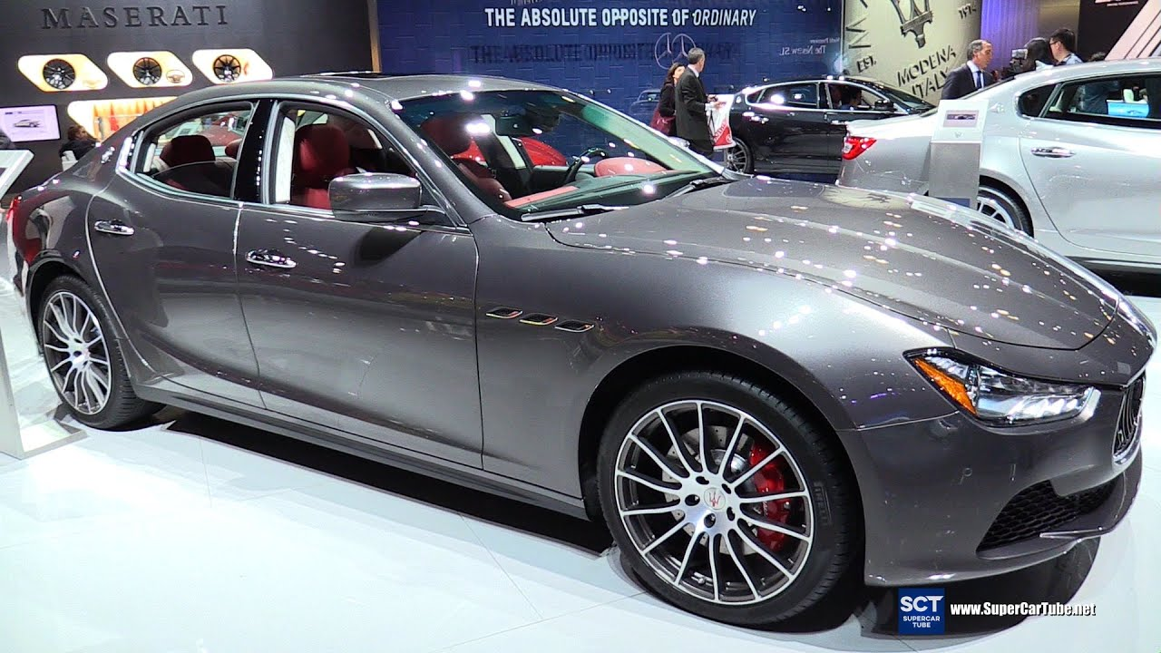 2016 maserati ghibli s exterior and interior walkaround. Black Bedroom Furniture Sets. Home Design Ideas