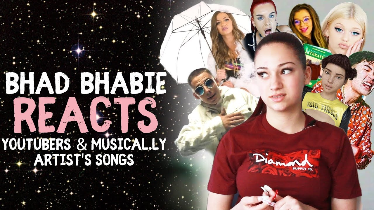 Danielle Bregoli is BHAD BHABIE reacts and roasts YouTuber and Muser music