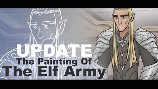 March Update - Painting of the Elf Army