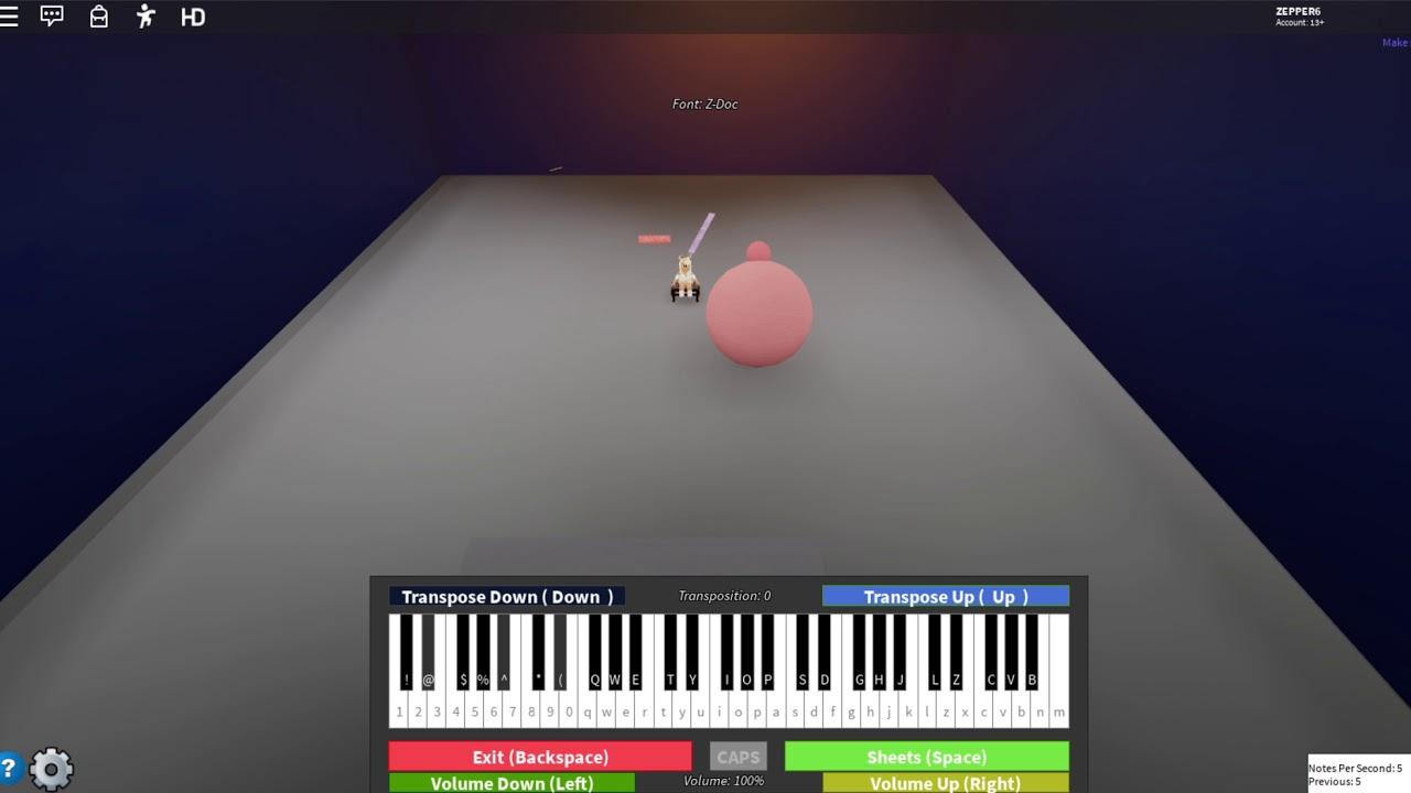 Melanie Martinez Mad Hatter Roblox Piano Youtube