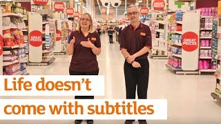 Life doesn't come with subtitles | Sainsbury's