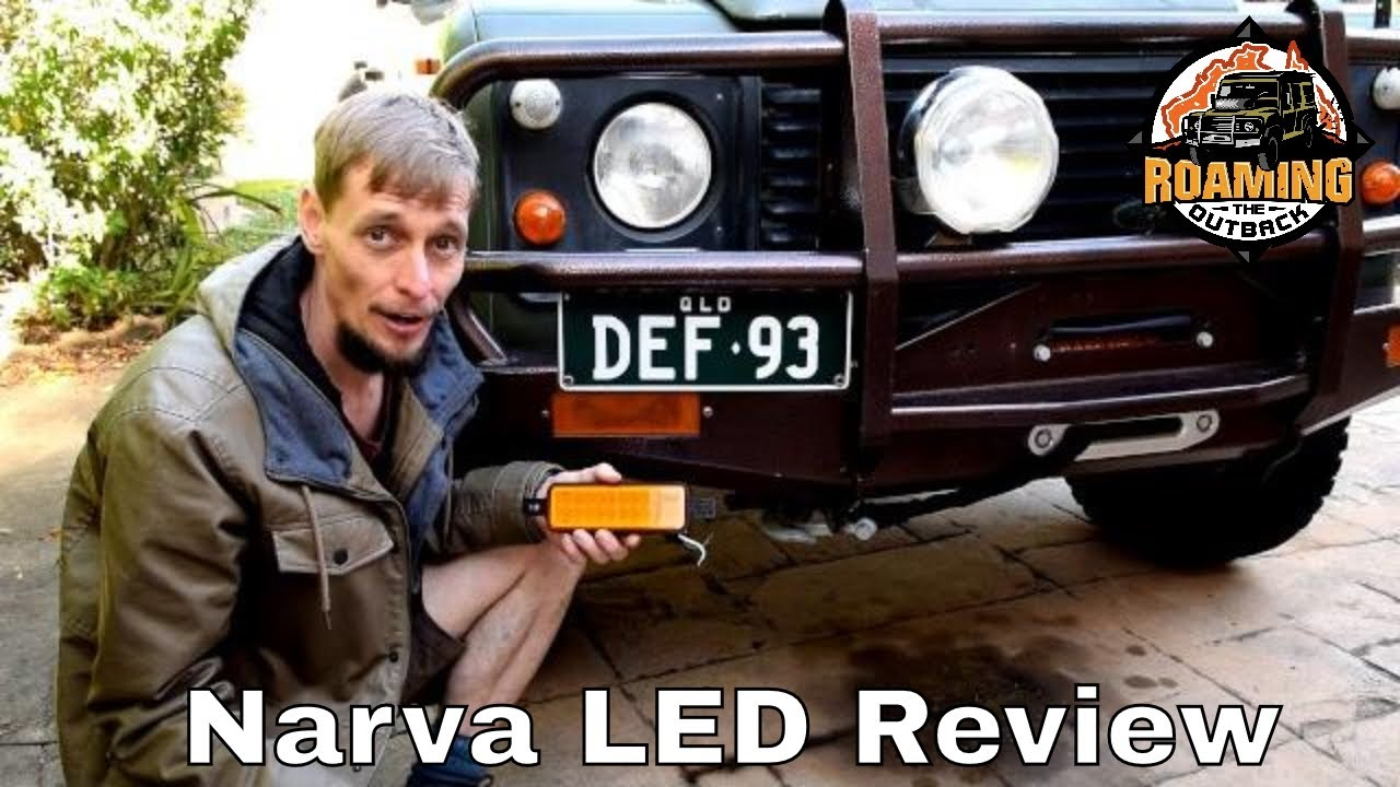 Narva 95200 Led Indicator Lamp Review Install Youtube Wiring Diagram Series 3 Land Rover